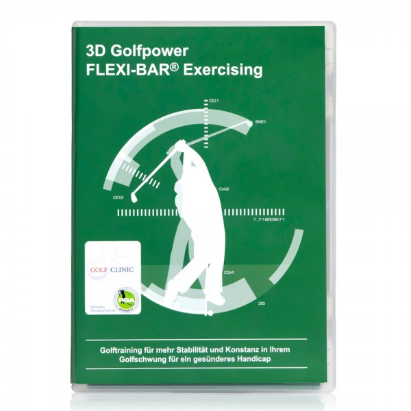 FLEXI-BAR - 3D Golfpower Exercising (DVD) D