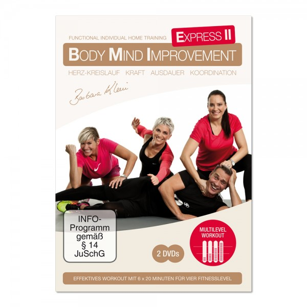 BODY MIND IMPROVEMENT EXPRESS II (DVD)